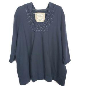 Avenue artisan collection sweatshirt size 26/28